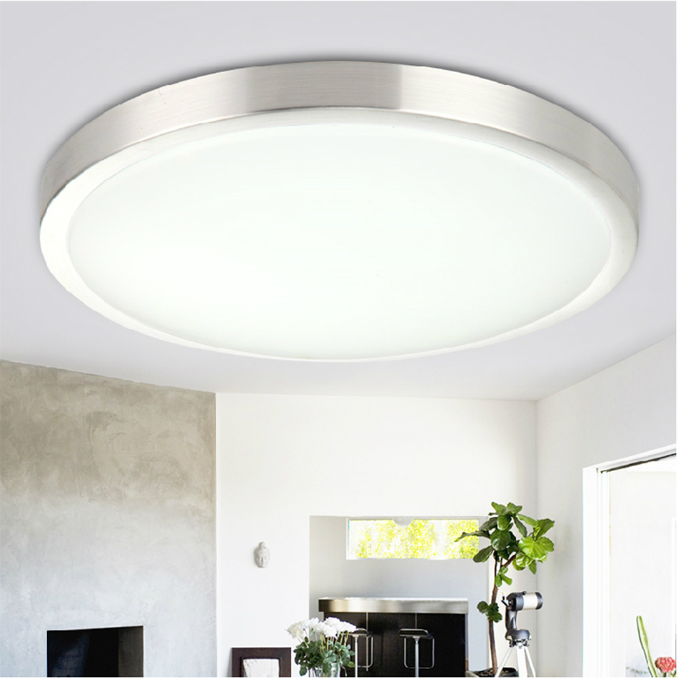 7W 12W LED Flush Mount Ceiling Wall Light Day Warm White
