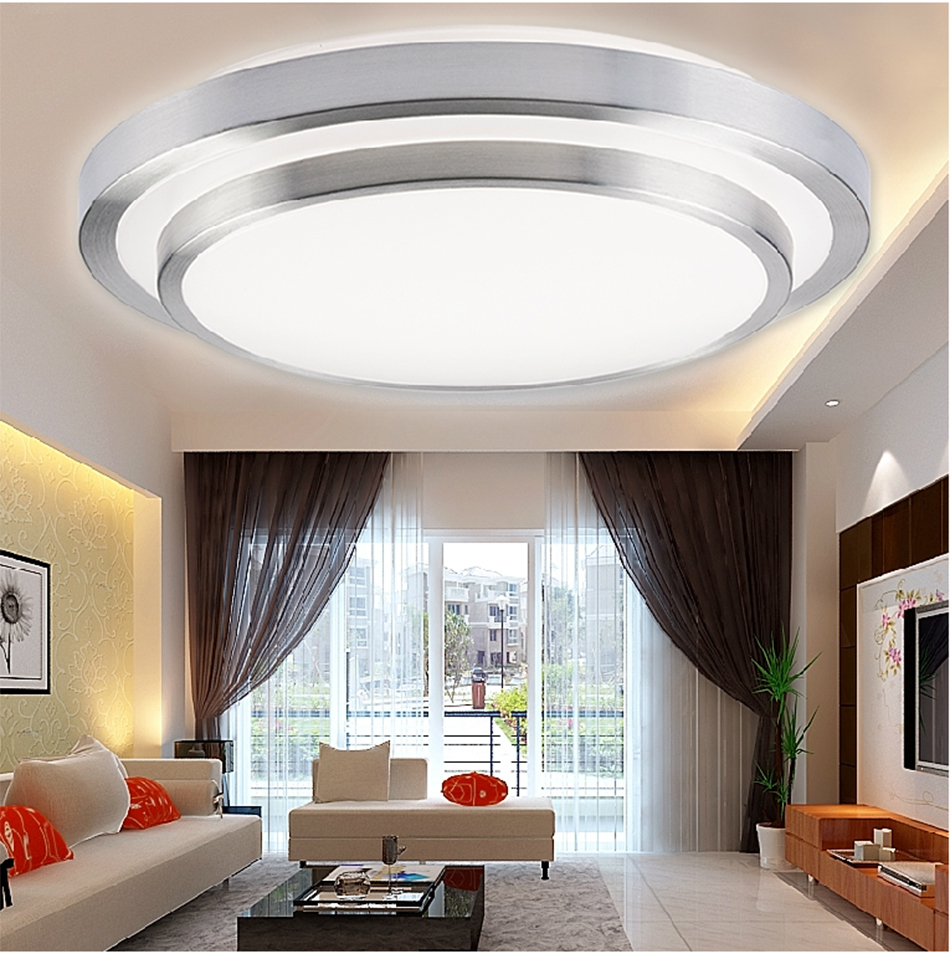 12W PIR Infrared Sensor SMD LED Motion Light Flush Mounted Ceiling Wall Lamp eBay
