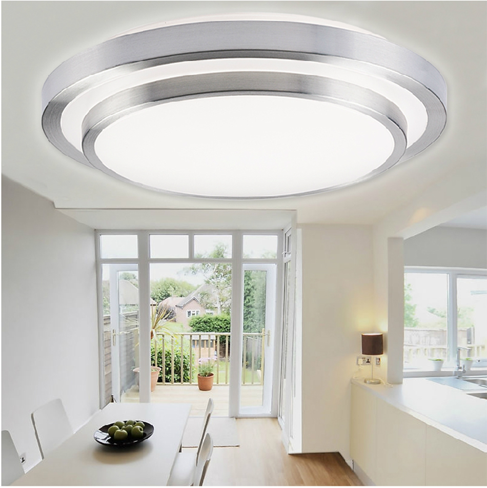 Ceiling Lamp Kitchen: 7W 12W LED Flush Mount Ceiling Wall Light Day Warm White