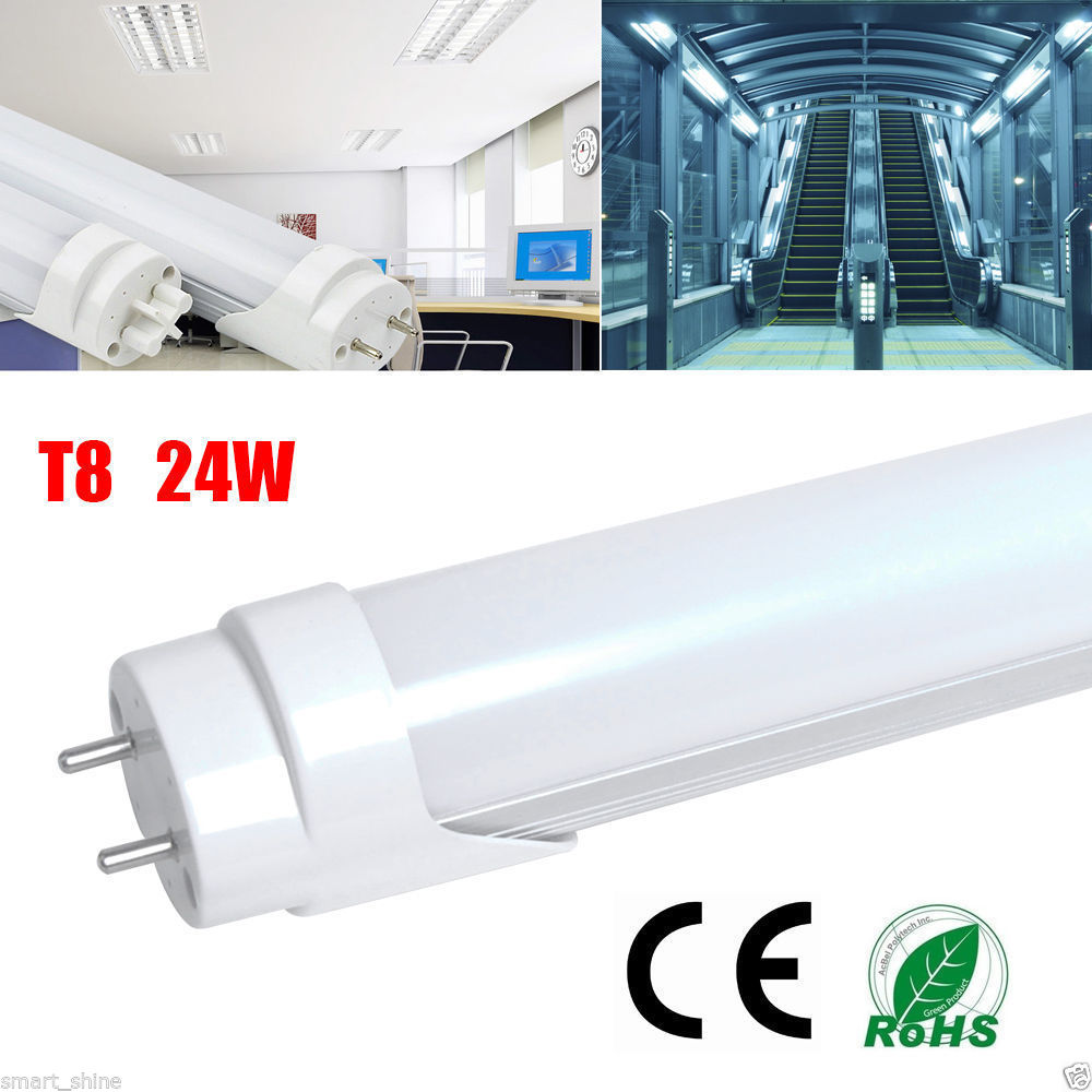 "1/10/50x 18W 24W 4FT 48"" White T8 G13 LED Tube Light"