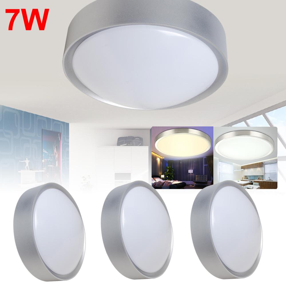 6w 7w led flush mount deckenlampe deckenleuchte decken. Black Bedroom Furniture Sets. Home Design Ideas