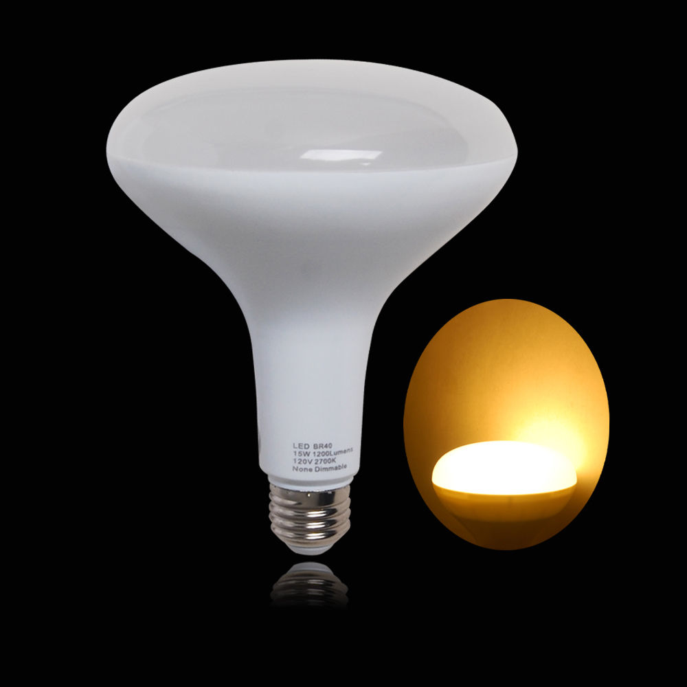 Led Flood Light Bulb Sizes: LED BR30 Bulbs Flood Light Lamp 12W 75W Replacement Soft