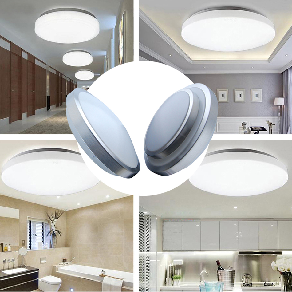 9 12w 15w led smd ceiling flush mount recessed wall for Bright kitchen light fixtures