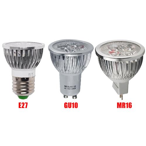 4 10 20x 6w gu10 mr16 e27 led ampoule r flecteur spot lampe blanc froid chaud ebay. Black Bedroom Furniture Sets. Home Design Ideas