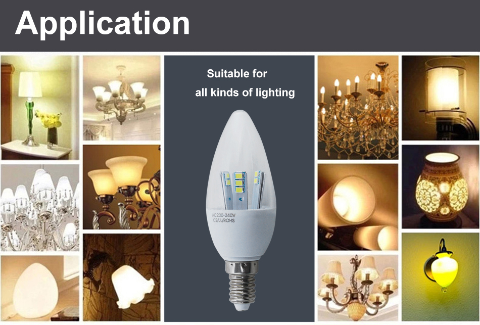 lot of 12x 5w e14 led ampoule bougie lampe nergie smd. Black Bedroom Furniture Sets. Home Design Ideas