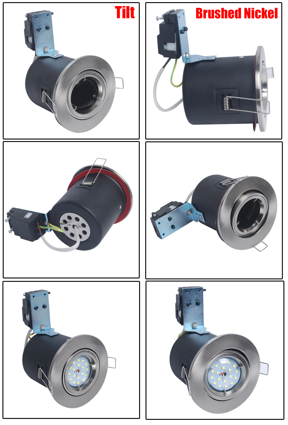 gu10 downlight fitting instructions