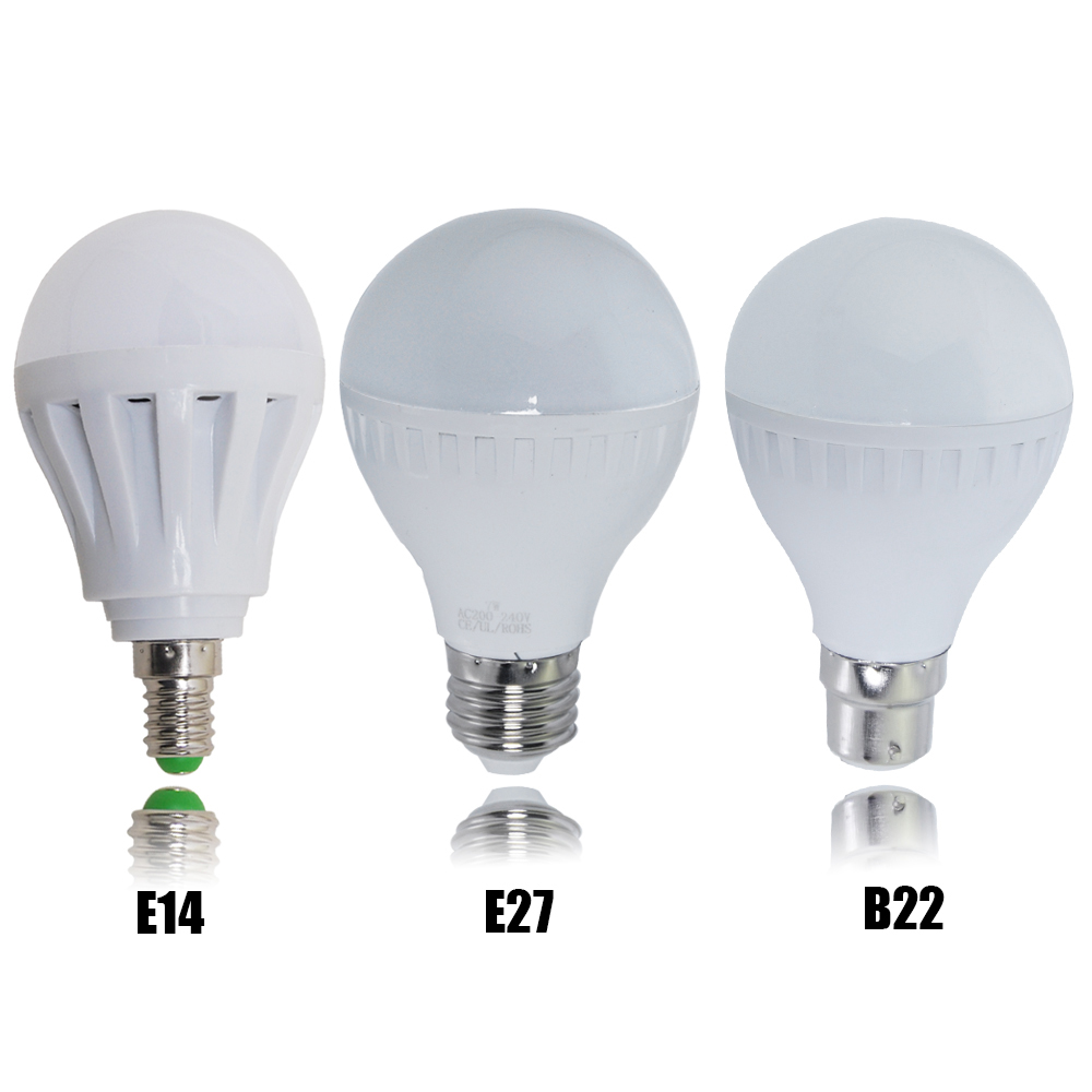 6x b22 b15 e14 e27 5w 7w 9w led globe bulbs ball lamp smd bulb spot light es bc ebay. Black Bedroom Furniture Sets. Home Design Ideas