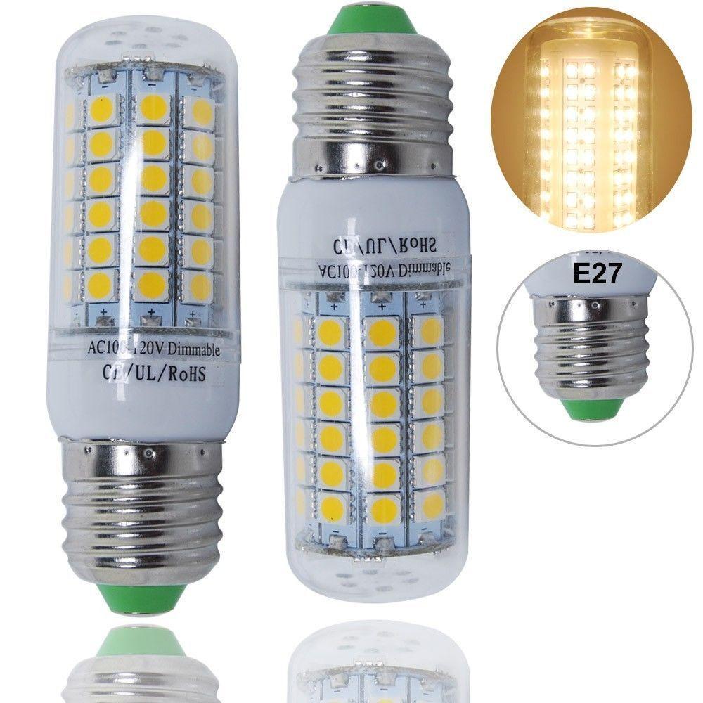 6pcs led candle light bulb e12 base 5w dimmable non E12 light bulb