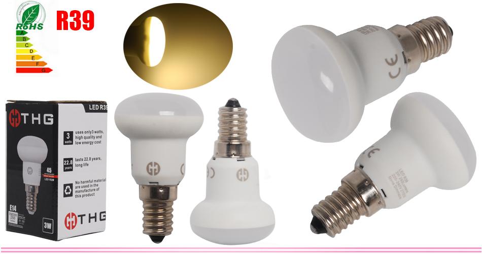 r39 r50 r63 r80 3w 6w 8w 10w e14 e27 led lampe reflektor leuchtmittel gl hbirnen ebay. Black Bedroom Furniture Sets. Home Design Ideas