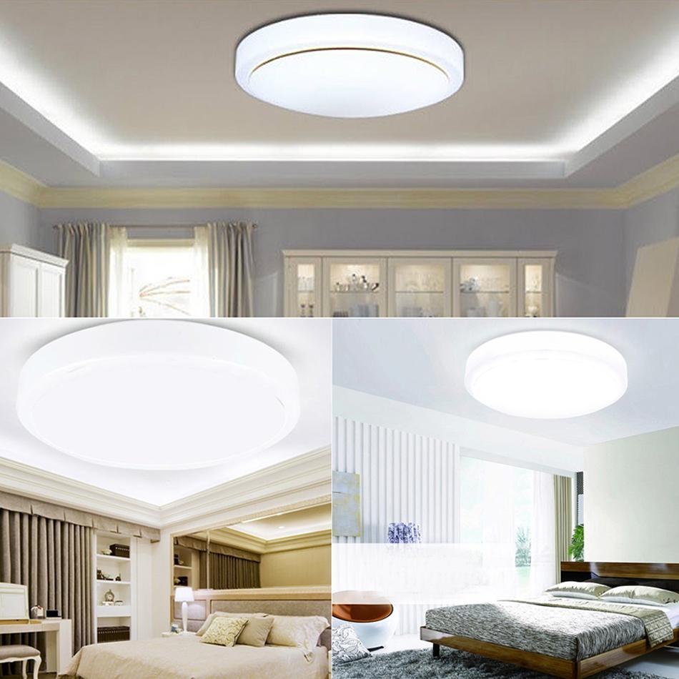 Modern 18W LED Flush Mount SMD Ceiling Light Downlight