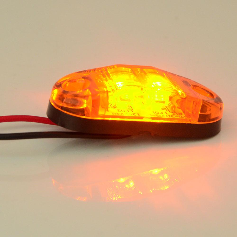 led front side marker light amber suitable for cars. Black Bedroom Furniture Sets. Home Design Ideas