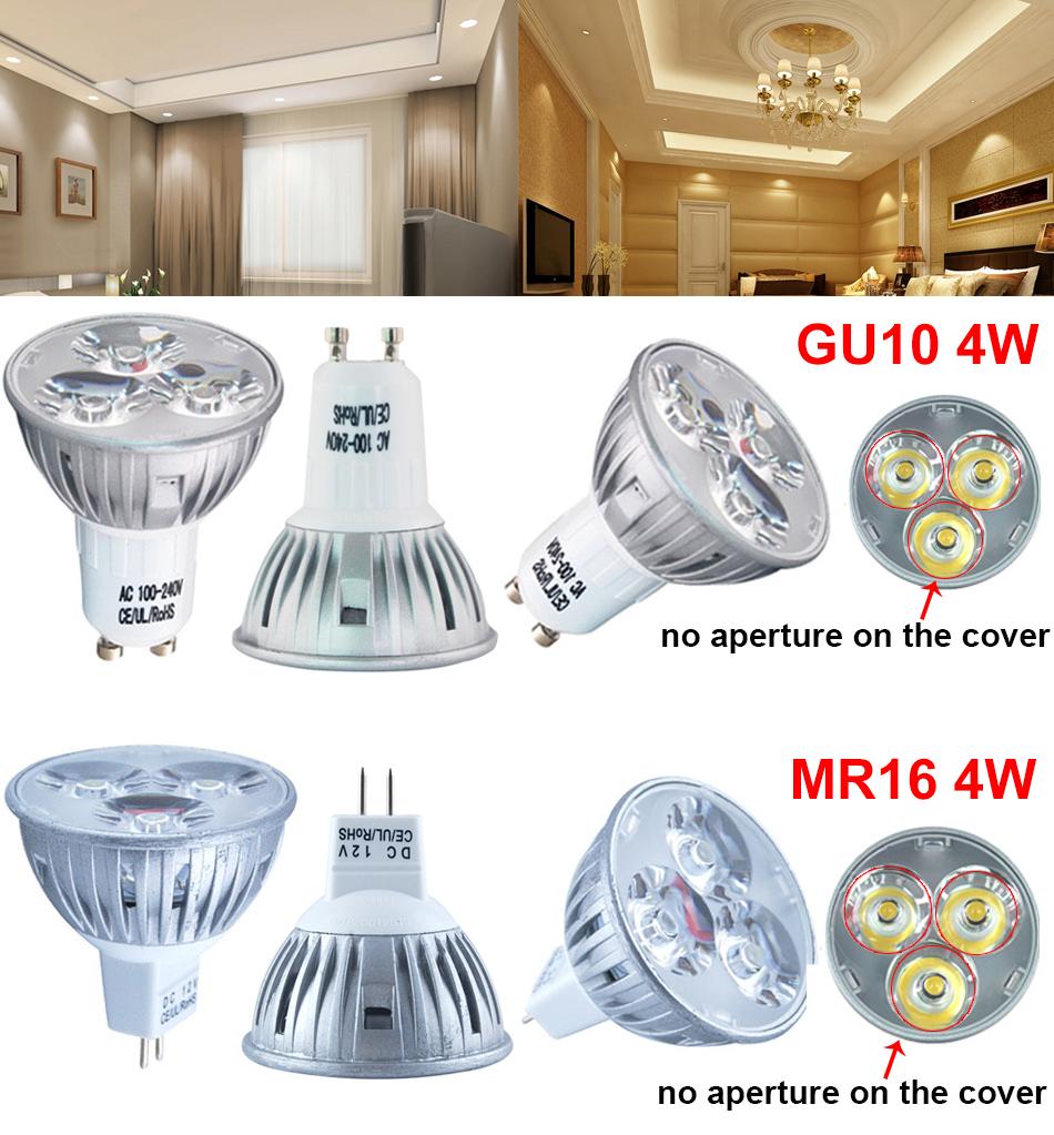 10x 4w 6w led leuchtmittel birne strahler spot lampe. Black Bedroom Furniture Sets. Home Design Ideas