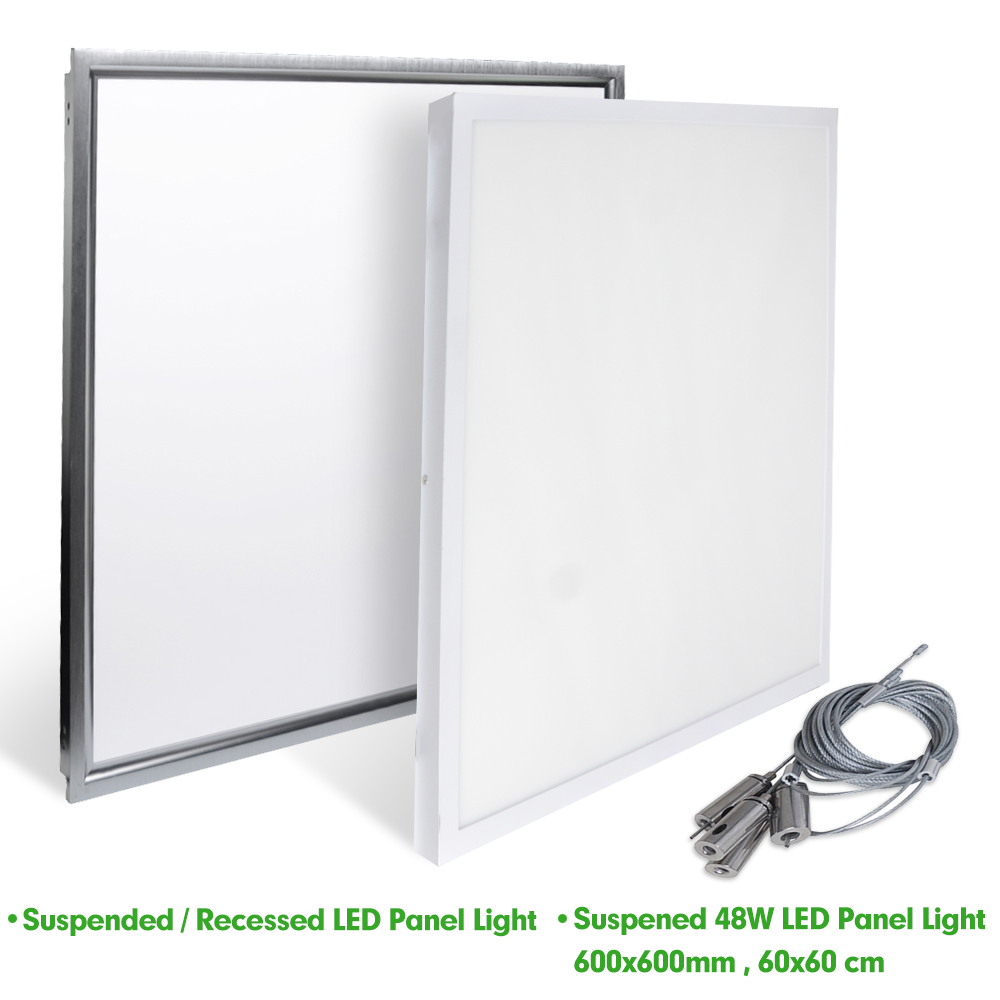 Suspended Ceiling Lights 600mm X 600mm : Mm w surface mounted suspended led ceiling panel