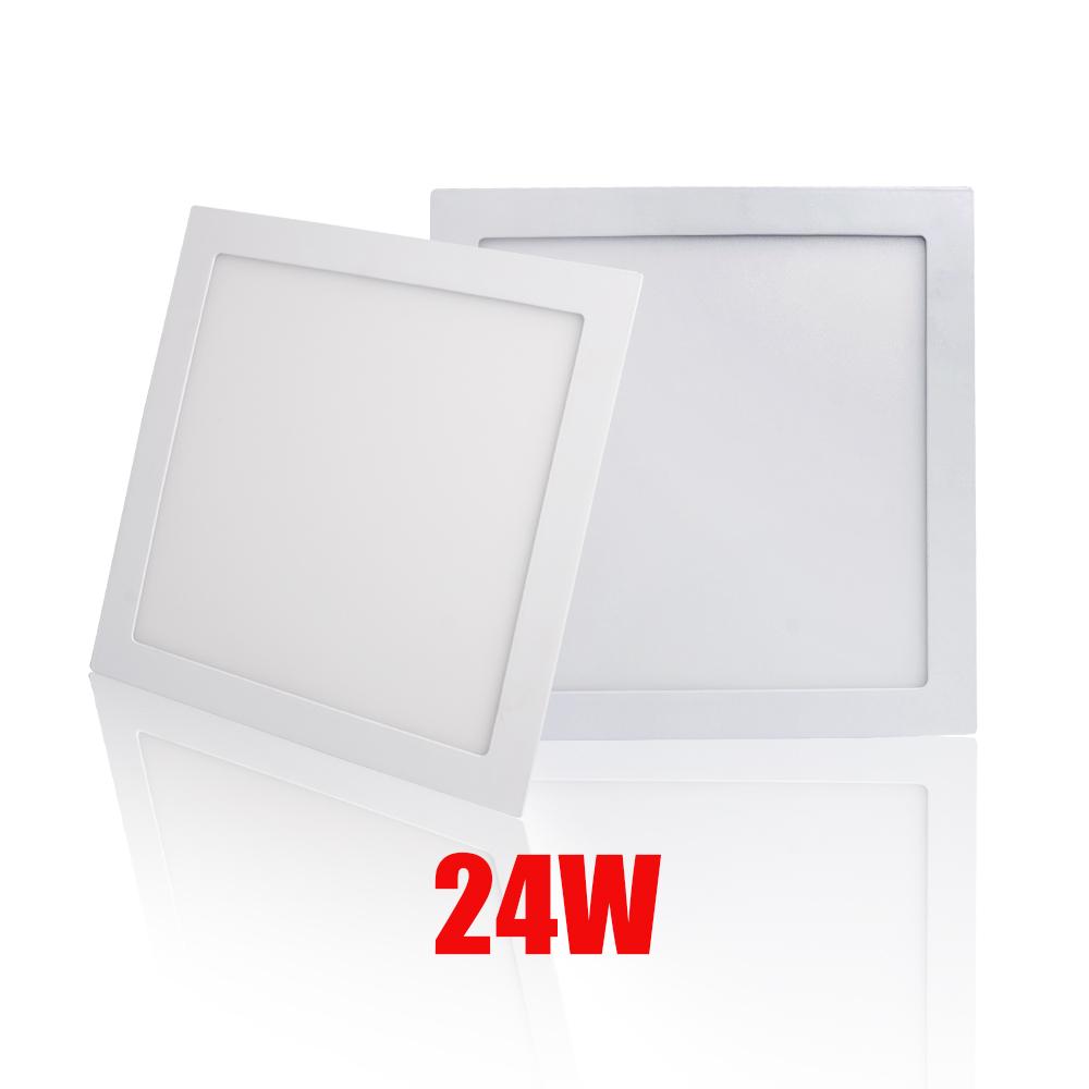 LED Panel Deckenleuchte Einbauleuchte 300X300 mm 24W 2200lm weiß 85-265 V//AC