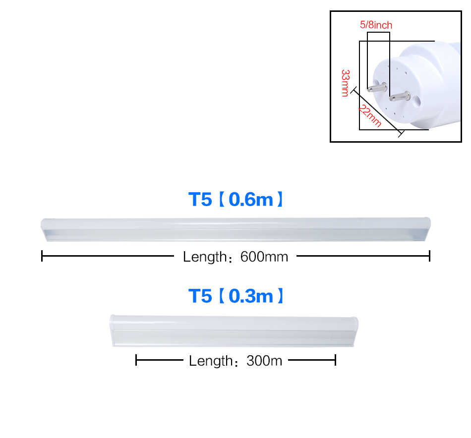 Uk 1 4 10x T5 T8 G13 1ft 2ft 4ft Led Smd Tube Light Fluorescent Lamp Wiring Diagram A Straight Forward For This Can Be Supplied Upon Order Please Ask