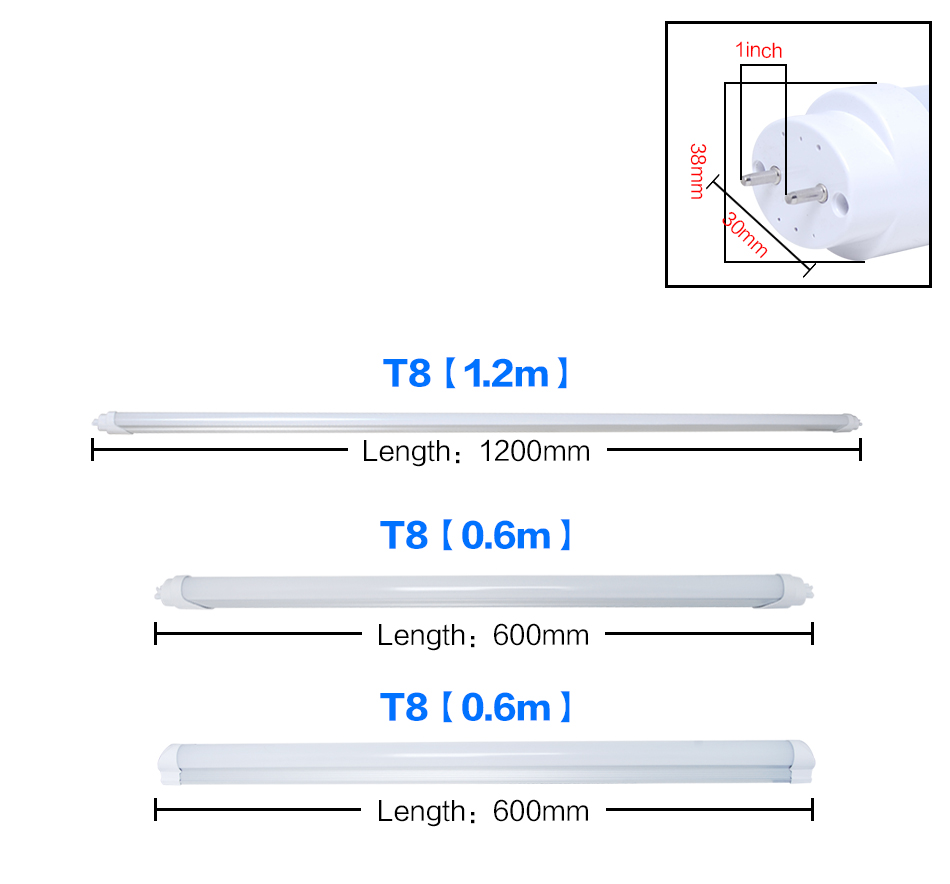 20x 9w Led T8 Tube Light Ceiling Lamp Fluorescent Replacement Day Ballast Wiring Diagram Parallel About Lighting Emitting Diode Or Uses 90 Percent Less Energy And Lasts 35 50 Times Longer Than Incandescent Traditional