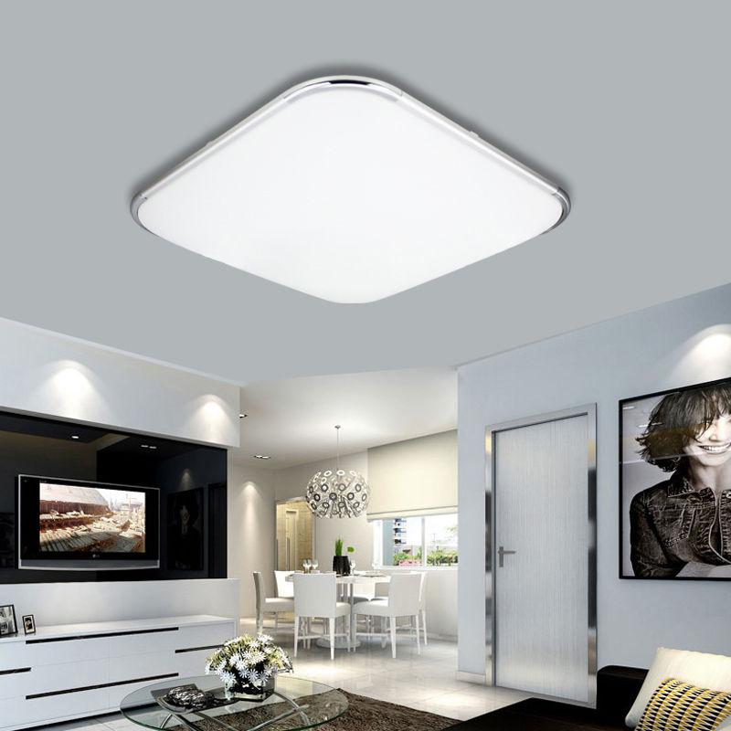 24w 96w led deckenleuchte schlafzimmer wandlampe aufbau panel wohnzimmer k che ebay. Black Bedroom Furniture Sets. Home Design Ideas