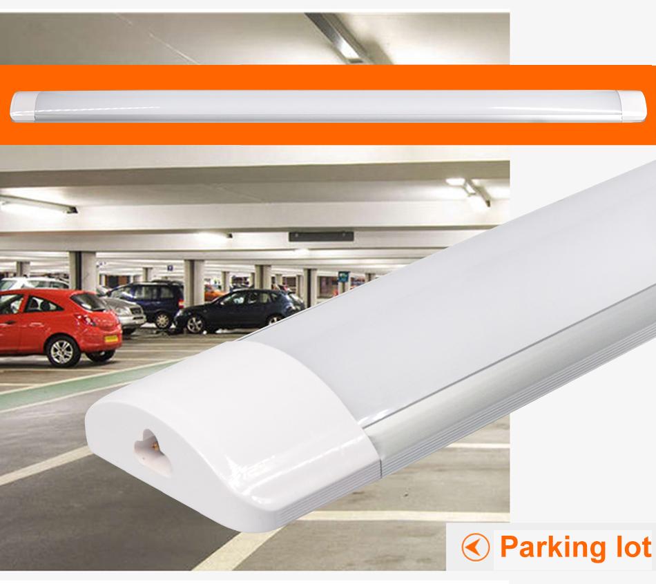 4x 4FT 120cm LED Batten Tube Light Daylight For Garage