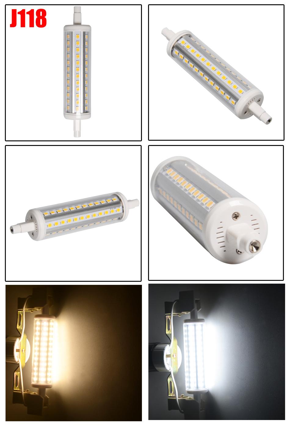R7s 78mm 118mm 5w 10w Led Smd Security Flood Light Bulb