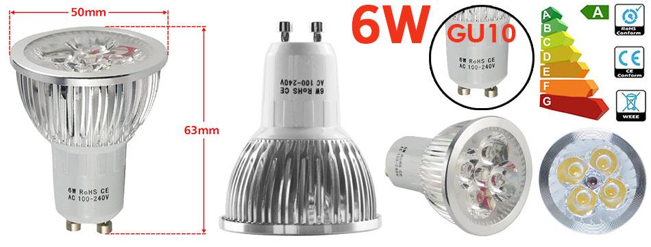 Lampe Leuchtmittel E27//GU10//MR16 Sparbirne Spot Einbaustrahler NEU LED Birne