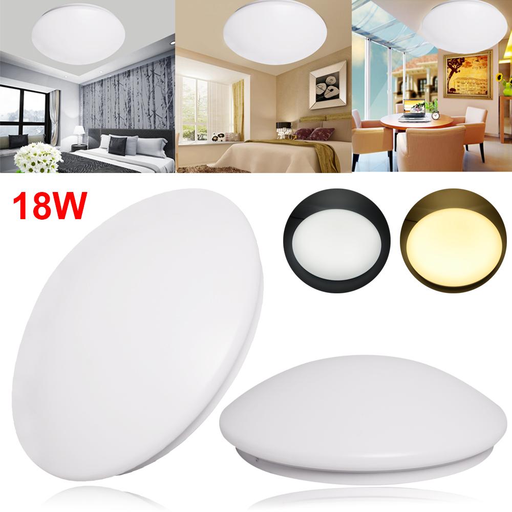 4//1er 24W Slim LED Deckenlampe Deckenleuchte Küchenlampe Kaltweiß//Warmweiß A DE